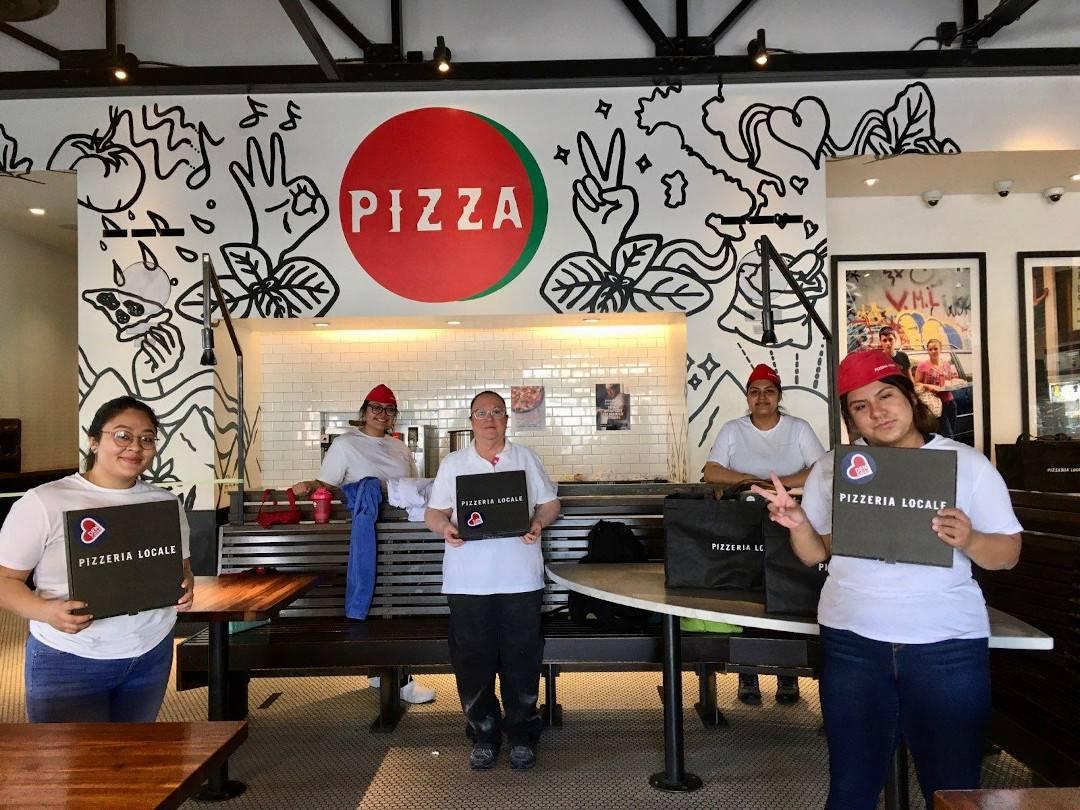 Pizzeria Locale Team Prepares Pies for Denver Health Employees