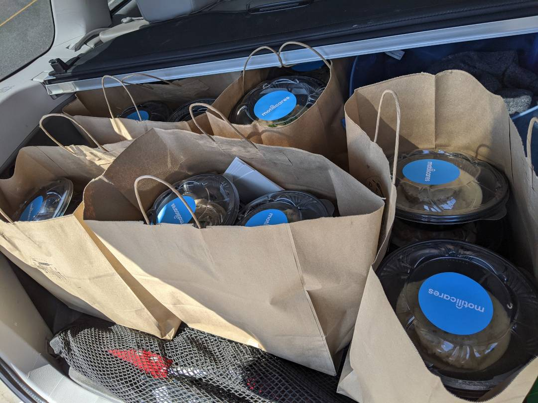 Delicious Meals from Denver Bisquit Company En-route to a Denver Hospital