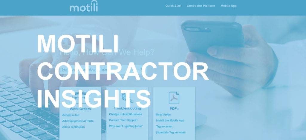 Launching The Motili Help Center - Contractor Insights