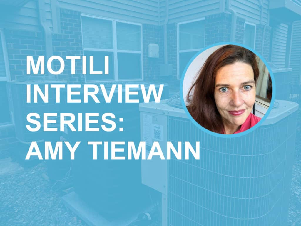 Motili Interview Series - Amy Tiemann Blog Post Header