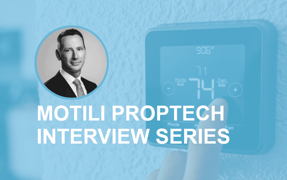 Motili PropTech Interview Series: Vincent Dermody, Managing Director, CohnReznick