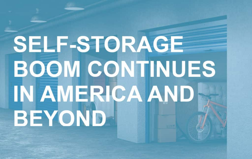 Self-Storage Boom Continues in America and Beyond Blog Post Header