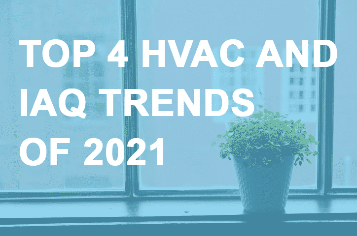 Top 4 HVAC and IAQ Trends of 2021